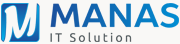 Manas IT Solution Logo